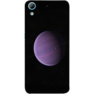 FUSON Designer Back Case Cover For HTC Desire 728 Dual Sim :: HTC Desire 728G Dual Sim (Rings In Space Zoom Into Beautiful Planet And Stars)