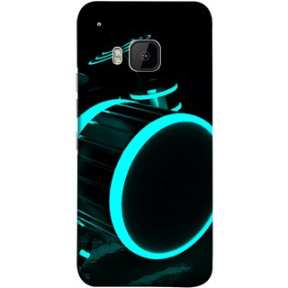 FUSON Designer Back Case Cover For HTC One M9 :: HTC One M9S :: HTC M9 (Lighted Drums Led Light Up Drum Set Drum Lights )