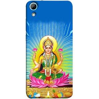FUSON Designer Back Case Cover For HTC Desire 828 Dual Sim (Maa Dhan Lakshmi Hindu Parvati Saraswati Shankar)