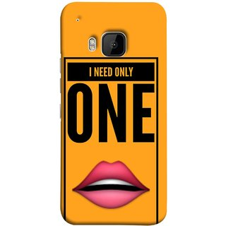 FUSON Designer Back Case Cover For HTC One M9 :: HTC One M9S :: HTC M9 (Hot Girl Couples Red Lips Pinky Flying Kisses Girl Lovers)