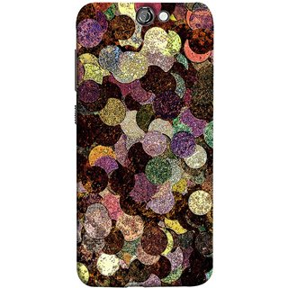 FUSON Designer Back Case Cover For HTC One A9 (Coins Pennies Money Currency Cash Finance Banking)