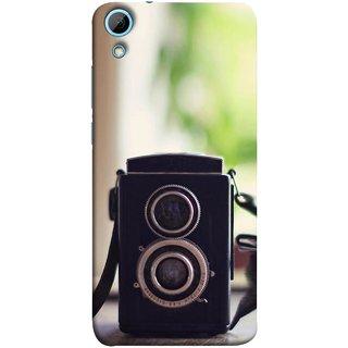FUSON Designer Back Case Cover For HTC Desire 828 Dual Sim (Antique & Vintage Cameras Make Great Deco)