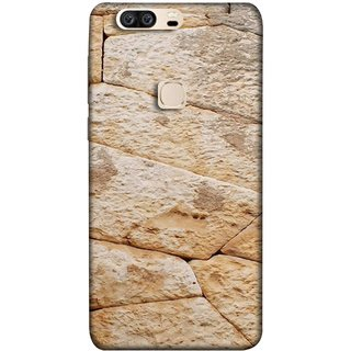 FUSON Designer Back Case Cover For Huawei Honor V8 (Irregular Shapes Ancient Different Sizes Wallpaper)
