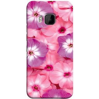 FUSON Designer Back Case Cover For HTC One M9 :: HTC One M9S :: HTC M9 (Floral Patterns Digital Textiles Florals Design Patterns)