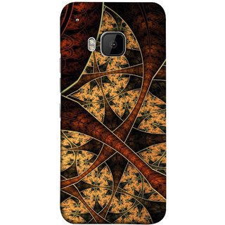 FUSON Designer Back Case Cover For HTC One M9 :: HTC One M9S :: HTC M9 (Colour Canvas For Hall Bedroom Painting Intresting)