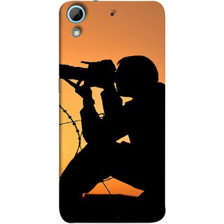 FUSON Designer Back Case Cover For HTC Desire 626G :: HTC Desire 626 Dual SIM :: HTC Desire 626S :: HTC Desire 626 USA :: HTC Desire 626G+ :: HTC Desire 626G Plus (Life Through A Lens Sunset Silhouette Camera Lens)