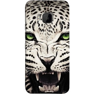 FUSON Designer Back Case Cover For HTC One M9 :: HTC One M9S :: HTC M9 (Jungle King Stearing Angry Roaring Loud Aslan Panther)
