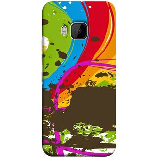 FUSON Designer Back Case Cover For HTC One M9 :: HTC One M9S :: HTC M9 (Forest Nature Whimsical Fantasy Fine Art Spots)