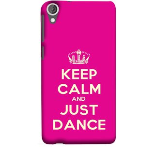 FUSON Designer Back Case Cover For HTC Desire 825 (Beautiful Music Musical Enjoy Party Good To Others)