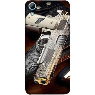 FUSON Designer Back Case Cover For HTC Desire 626G :: HTC Desire 626 Dual SIM :: HTC Desire 626S :: HTC Desire 626 USA :: HTC Desire 626G+ :: HTC Desire 626G Plus (Gun Pouch Holder Loading Bullets Killing Murders )