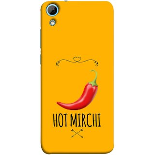 FUSON Designer Back Case Cover For HTC Desire 828 Dual Sim (Radio Mirchi Show Hot Love Guru Teacher Mantra)