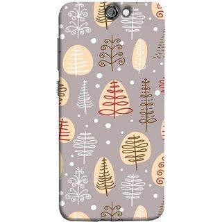 FUSON Designer Back Case Cover For HTC One A9 (Wallpaper Children Paper Book Design Best One )
