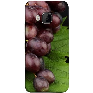 FUSON Designer Back Case Cover For HTC One M9 :: HTC One M9S :: HTC M9 (Nature Farm Wine Organic Farm Agriculture Autumn )