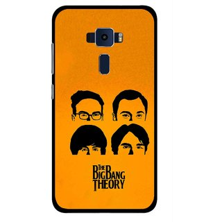 Snooky Printed Bigbang Mobile Back Cover For Asus Zenfone 3 ZE520KL - Yellow