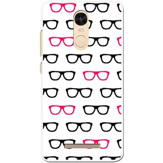 Snooky Printed Spectacles Mobile Back Cover For Gionee S6s - Multi