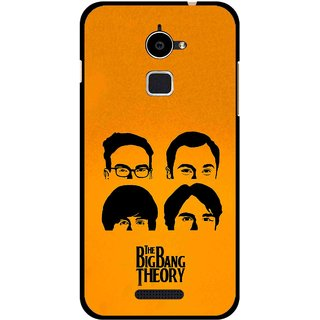 Snooky Printed Bigbang Mobile Back Cover For Coolpad Note 3 Lite - Yellow
