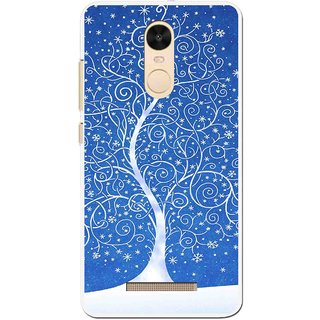 Snooky Printed Wish Tree Mobile Back Cover For Gionee S6s - Blue