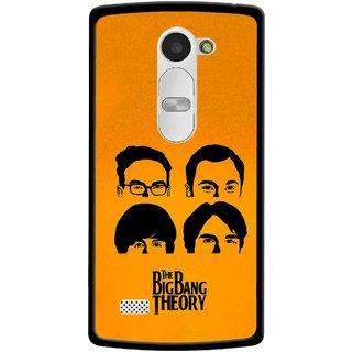 Snooky Printed Bigbang Mobile Back Cover For Lg Leon - Yellow