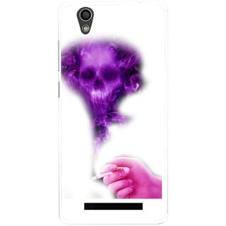 Snooky Printed Danger Mobile Back Cover For Gionee F103 - Multi