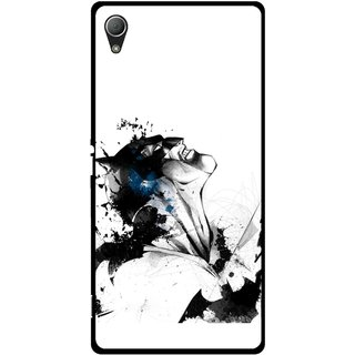 Snooky Printed Super Hero Mobile Back Cover For Sony Xperia Z3 Plus - Multi