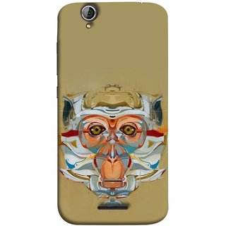 FUSON Designer Back Case Cover For Acer Liquid Z630 :: Acer Liquid Zade Z630S (Multicolour Cat Monkey King Animal Tree )