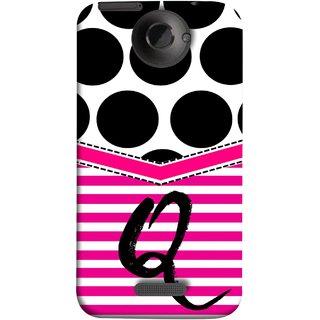 FUSON Designer Back Case Cover For HTC One X :: HTC One X+ :: HTC One X Plus :: HTC One XT (Beautiful Cute Nice Couples Pink Design Paper Girly Q)