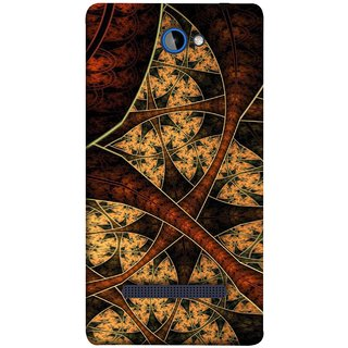 FUSON Designer Back Case Cover For HTC Windows Phone 8S :: HTC 8S (Colour Canvas For Hall Bedroom Painting Intresting)