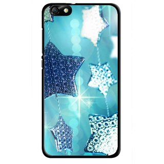 Snooky Printed Sparkling Stars Mobile Back Cover For Huawei Honor 4X - Multi