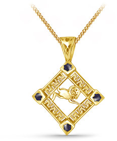 Zodiac Power Aries Pendant