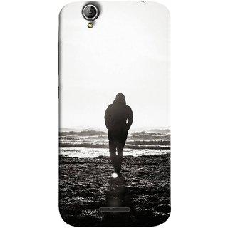 FUSON Designer Back Case Cover For Acer Liquid Z630 :: Acer Liquid Zade Z630S (Alone Searching Love Broken Breakup Sunshine )
