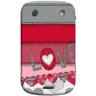 FUSON Designer Back Case Cover For BlackBerry Bold Touch 9900 :: BlackBerry Dakota :: BlackBerry Magnum (Love Birds Couples Forever Full Of Love Pyar Valentine)