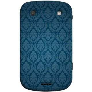 FUSON Designer Back Case Cover For BlackBerry Bold Touch 9900 :: BlackBerry Dakota :: BlackBerry Magnum (Blue Artwork Student Spots Amazing Plywood Table Cloth)