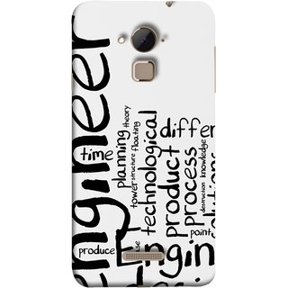 FUSON Designer Back Case Cover For Coolpad Note 3 Lite :: Coolpad Note 3 Lite Dual SIM (Engineer Process Corporate Jobs Technical Solutions )