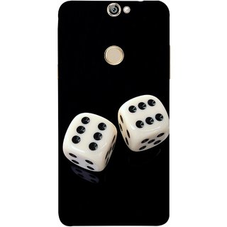 FUSON Designer Back Case Cover For Coolpad Max (Dice Pair Nice Game India Fevorite Children Boys Girls )