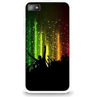 Snooky Printed Party Time Mobile Back Cover For Blackberry Z10 - Multi