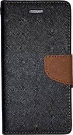 Mercury Wallet Style Flip Back Case Cover For Micromax Canvas Knight A350
