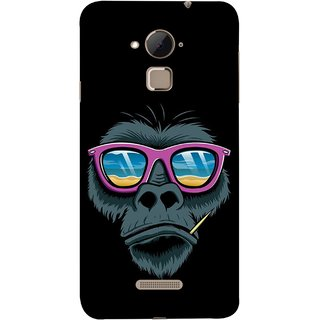 FUSON Designer Back Case Cover For Coolpad Note 3 Lite :: Coolpad Note 3 Lite Dual SIM (Pink  Toothpick Smoking Drawing Design)