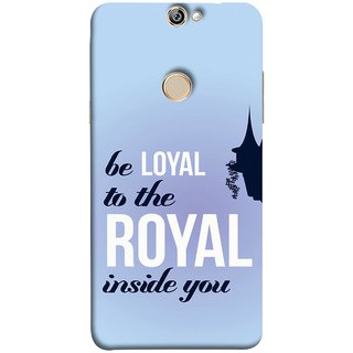 FUSON Designer Back Case Cover For Coolpad Max (Lamppost Hights New Horizon Loyalty Wall Art )