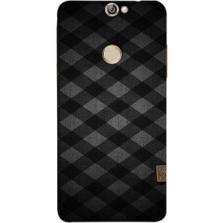 FUSON Designer Back Case Cover For Coolpad Max (Geometric Wallpaper Art Print Black And White )