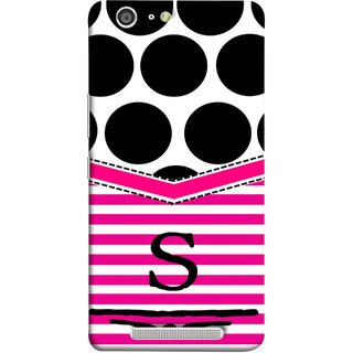 FUSON Designer Back Case Cover For Gionee Marathon M5 (Beautiful Cute Nice Couples Pink Design Paper Girly S)