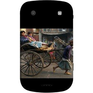 FUSON Designer Back Case Cover For BlackBerry Bold Touch 9900 :: BlackBerry Dakota :: BlackBerry Magnum (Wheel Hay Cart Old Wagons Indian Cycle Rickshow)