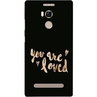 FUSON Designer Back Case Cover For Gionee Elife E8 (Message Couples All God Love You Family Relatives )