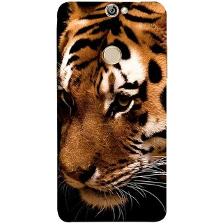 FUSON Designer Back Case Cover For Coolpad Max (Staring In Jungle Long Whiskers Shivsena )