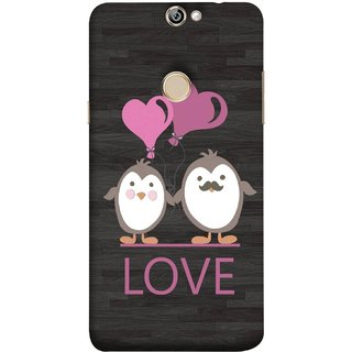 FUSON Designer Back Case Cover For Coolpad Max A8 (Feeling Loved With Each Other Valentine Day)
