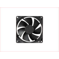MAA-KU DC Axial Case Cooling Fan. SIZE  3.65 inches (9.2x9.2x2.5cm), (92x92x25mm), SUPPLY VOLTAGE  12VDC.
