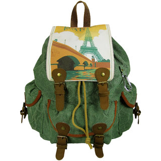 The House of Tara Rover Backpack (Hedge Green, Large)
