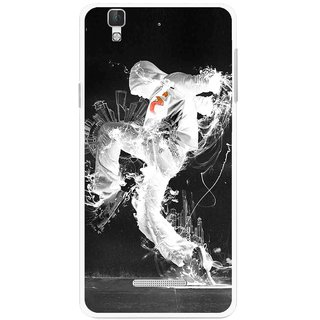 Snooky Printed Dance Mania Mobile Back Cover For Micromax YU YUREKA - Multi
