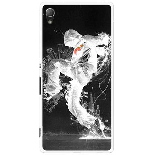 Snooky Printed Dance Mania Mobile Back Cover For Sony Xperia Z4 - Multi