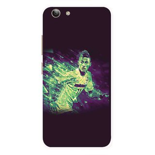 Snooky Printed Running Boy Mobile Back Cover For Vivo Y53 - Multi