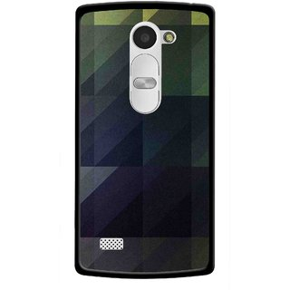 Snooky Printed Geomatric Shades Mobile Back Cover For Lg Leon - Multi